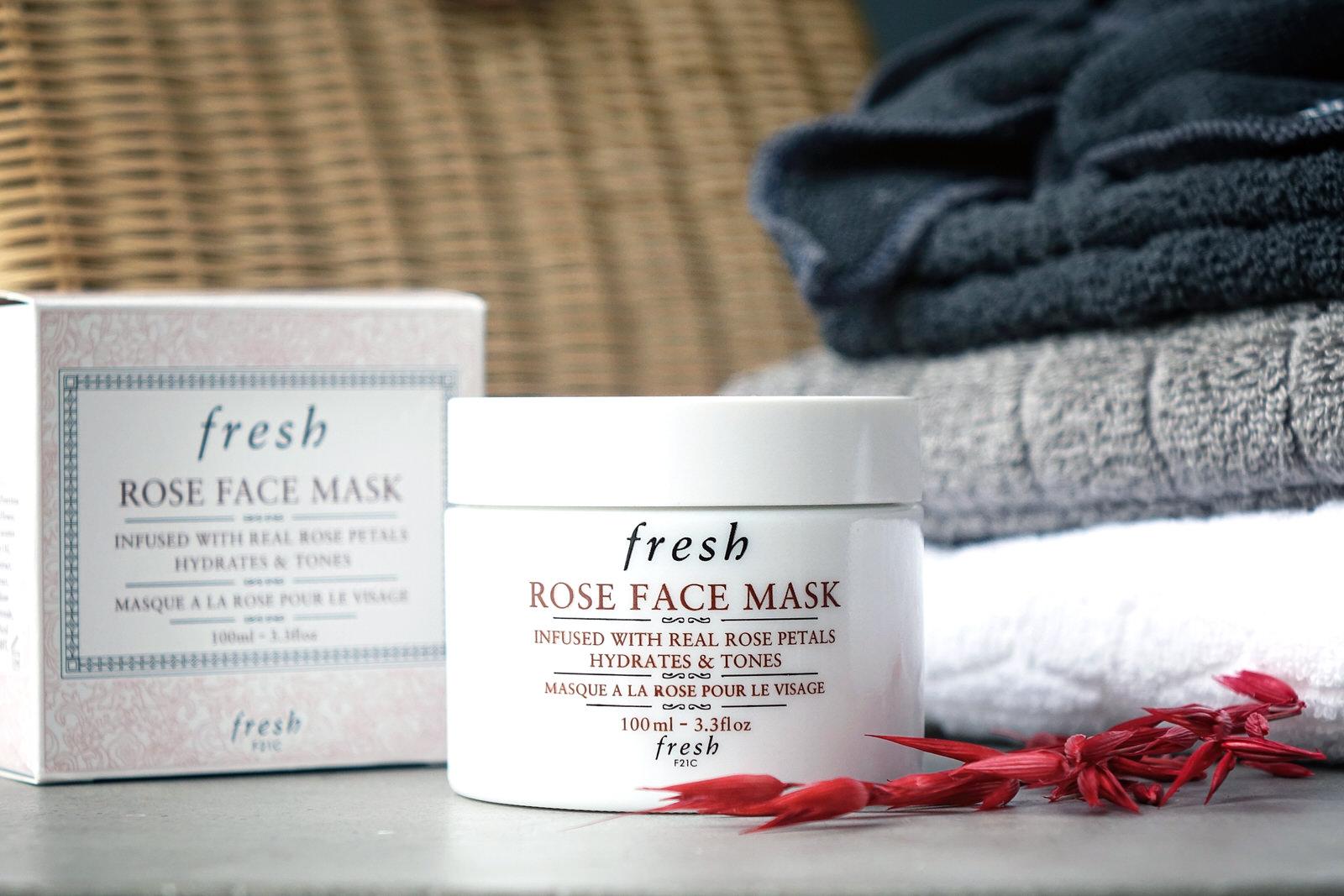 La gamme à la rose de Fresh