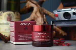 """La nouvelle gamme de soins d'Apivita, """"Wine Elixir"""""""