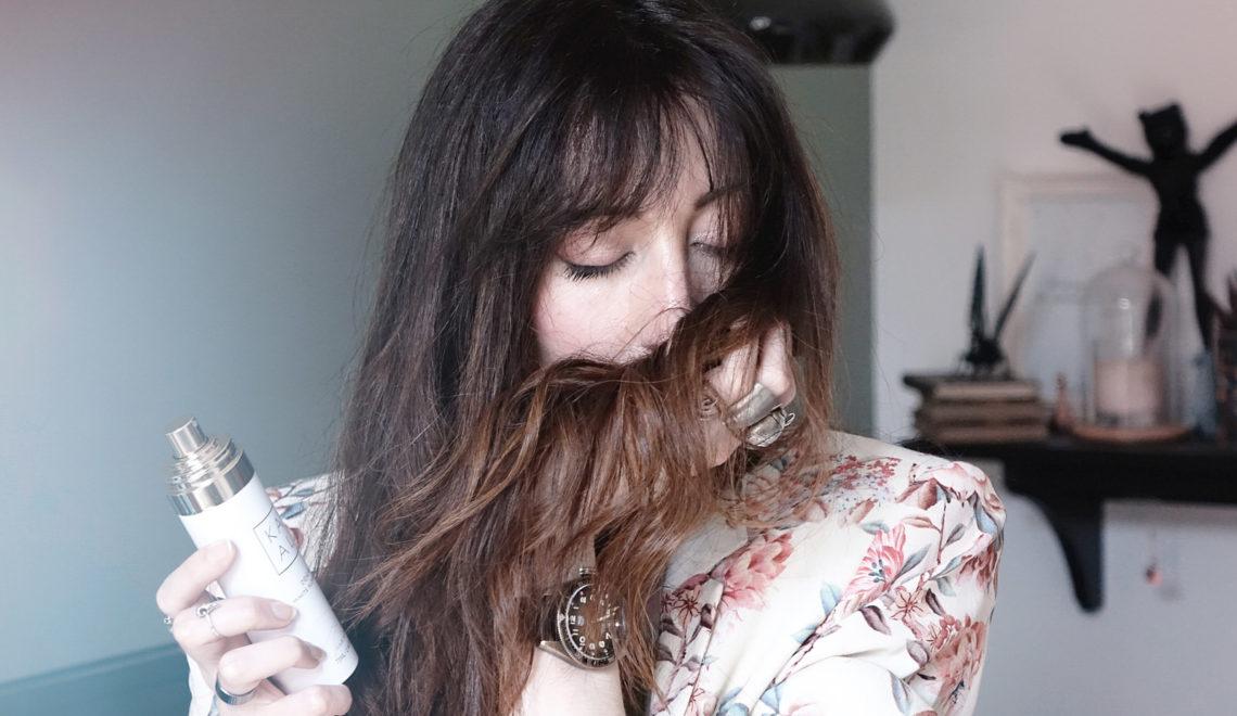 La meilleure brume pour les cheveux que j'ai pu porter – signée KAYALI