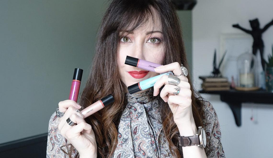 Les nouveaux gloss Shiseido pour une bouche gourmande