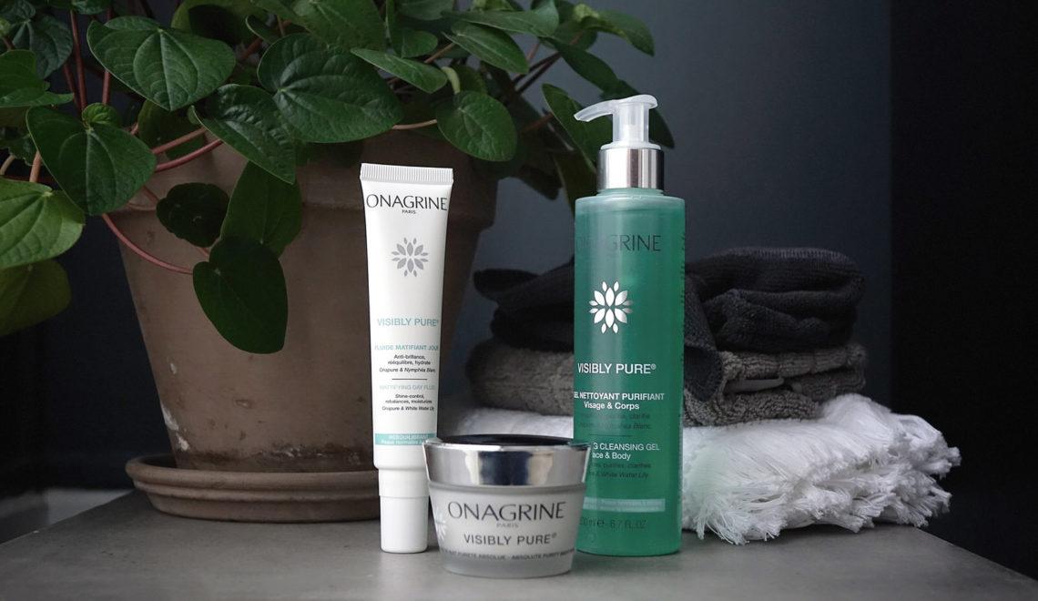 La gamme Visibly Pure signée Onagrine, pour rééquilibrer les peaux mixtes à grasses