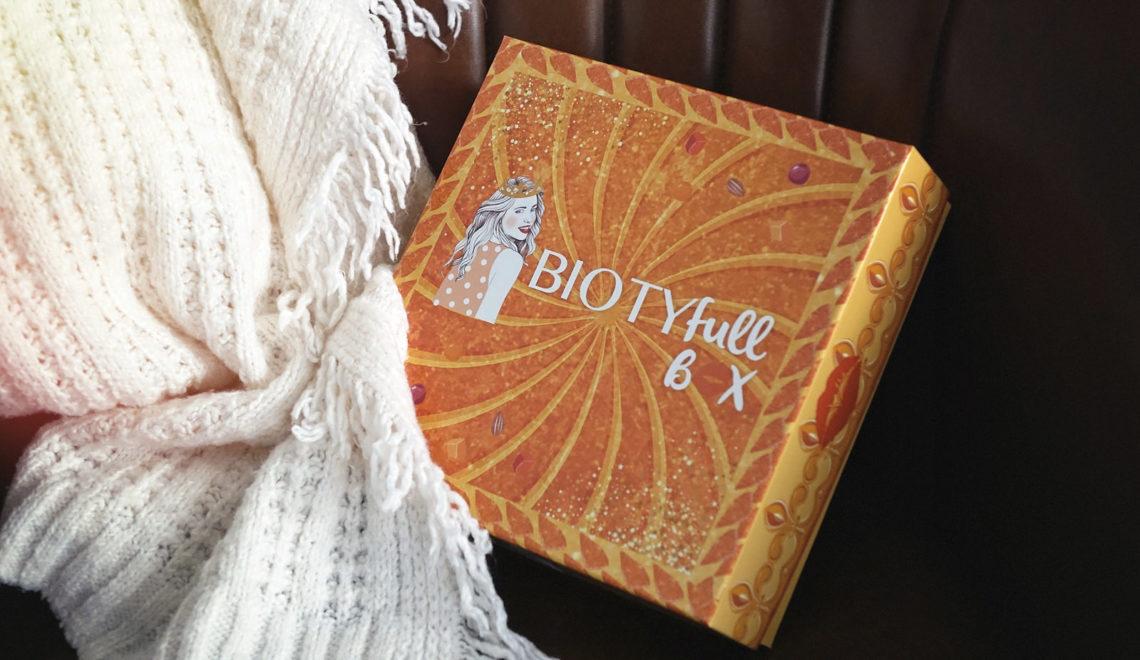 BIOTYfull Box – Janvier 2021 – « Galette des rois »