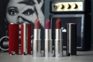 Les accessoires de rouge à lèvres Givenchy