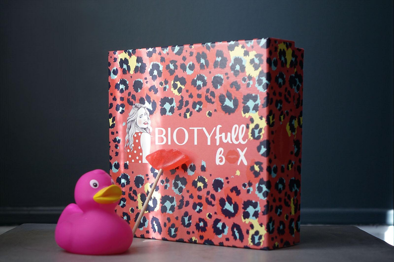 Contenu de la BIOTYfull Box de février 2021 pour la Saint Valentin