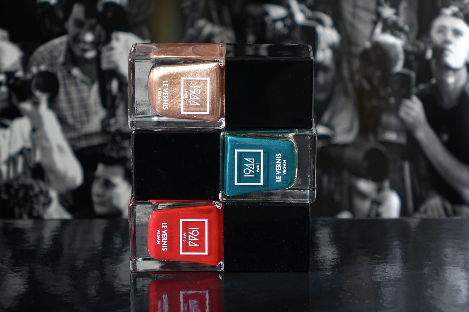 Les nouvelles teintes de vernis à ongles 1944 Paris