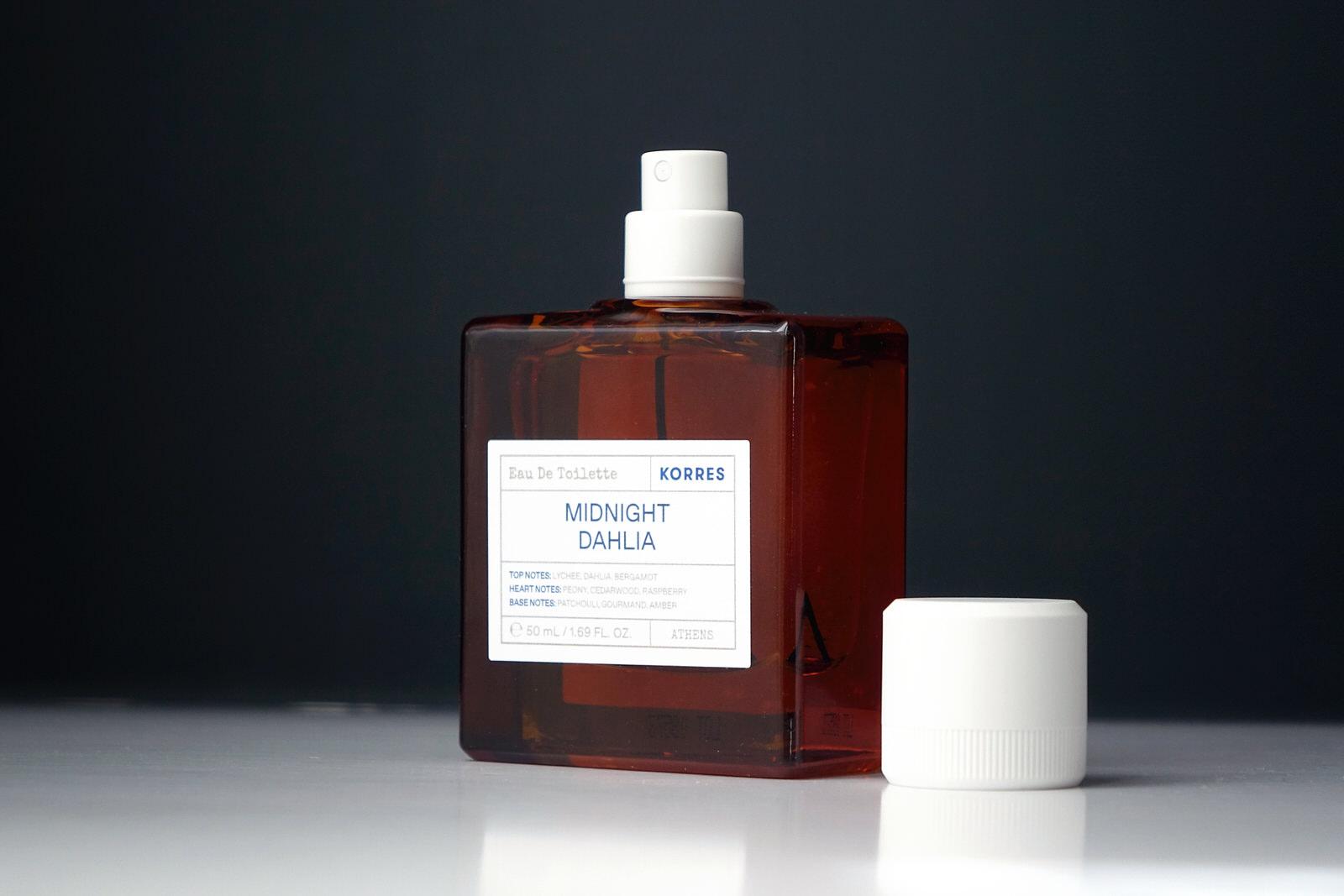 L'eau de toilette Midnight Dahlia de Korres