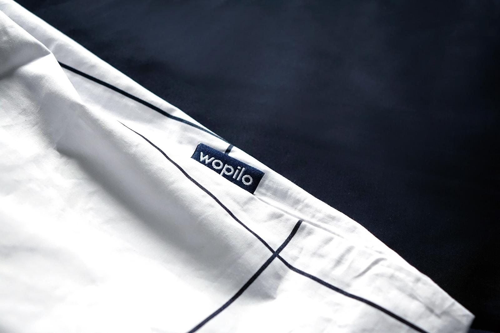 Les parures de draps Wopilo au coton bio