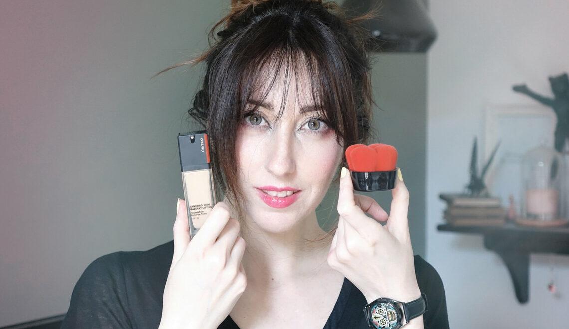 Les formules liftantes et innovantes de Shiseido, pour le maquillage du teint