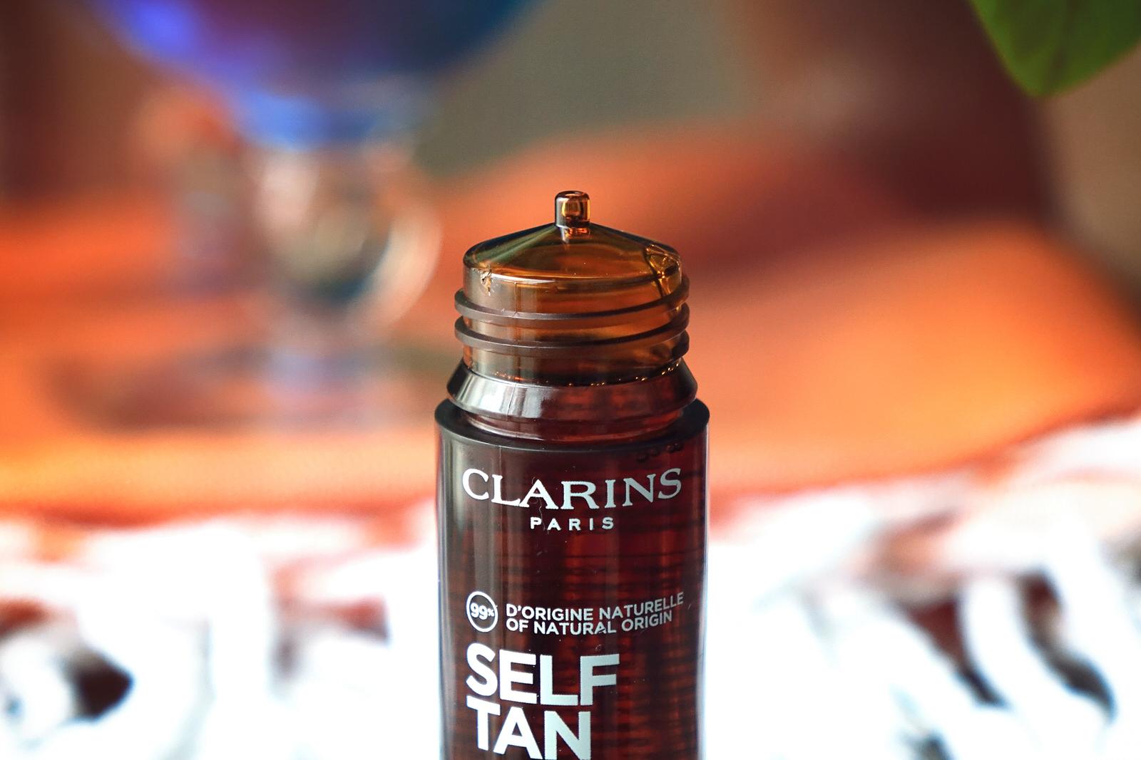 Les autobronzants de Clarins