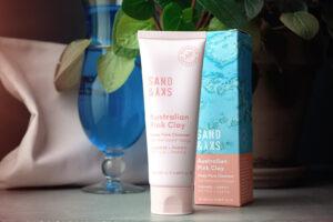 La gamme Australian Pink Clay de Sand and Sky