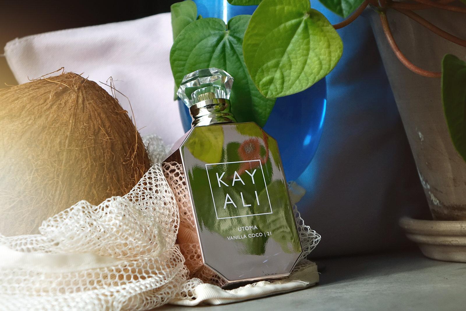 Utopia de Kayali, parfum d'été vanille coco