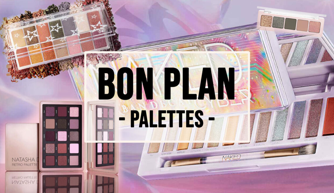 BON PLAN – 2 palettes achetées, 1 supplémentaire offerte !