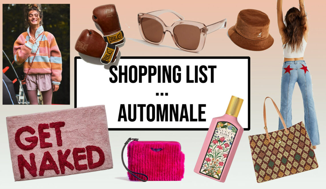 Shopping list … automnale