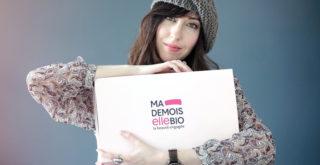 contenu du calendrier de l'avent Mademoiselle Bio 2020